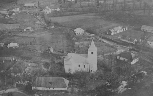 Centrum obce 1929